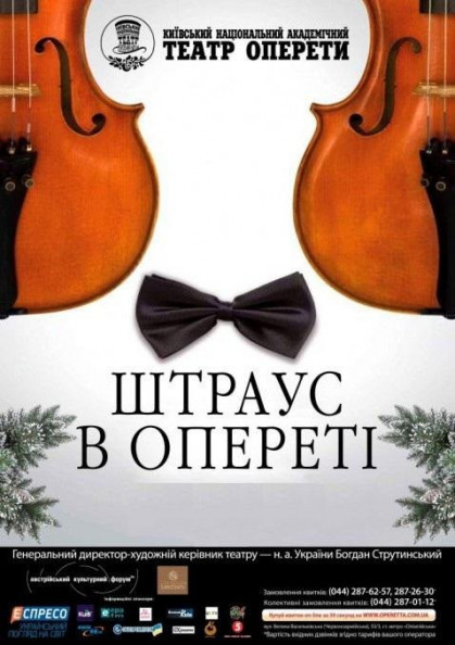 "New Year's Concert ""Strauss in the Operetta"""