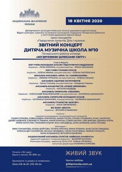 ДМШ №10 м.Києва  Звітний концерт