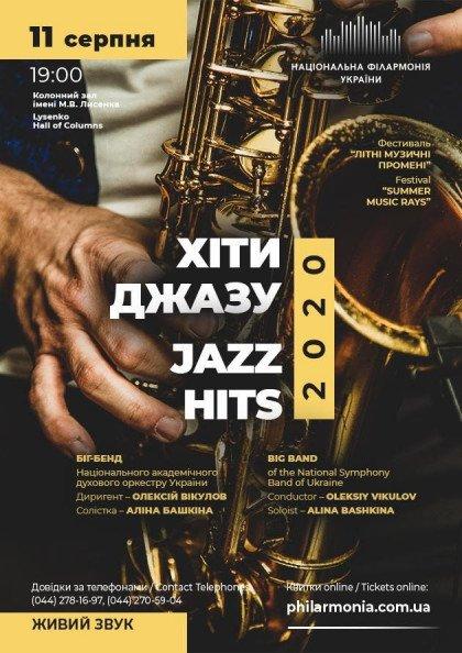 ХІТИ ДЖАЗУ-2020. Біг-бенд духового оркестру
