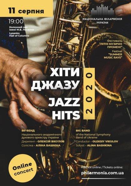Live online concert / Хіти Джазу-2020. Біг-бенд духового оркестру