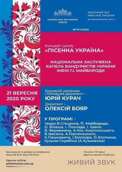 Національна капела бандуристів України.