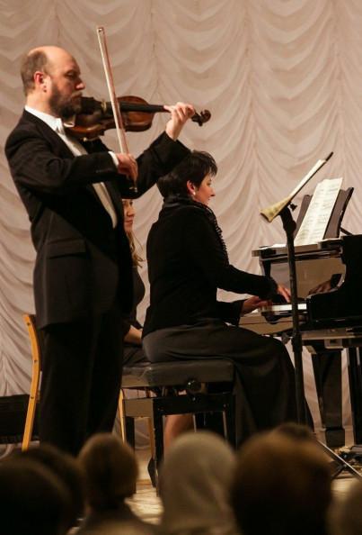 """(Музей М.Лисенка) Г.САФОНОВ (скрипка), О.СТРОГАН (фортепіано). """"Сонатний вечір"""""""