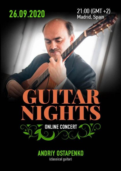 Live concert : Guitar Nights in Madrid