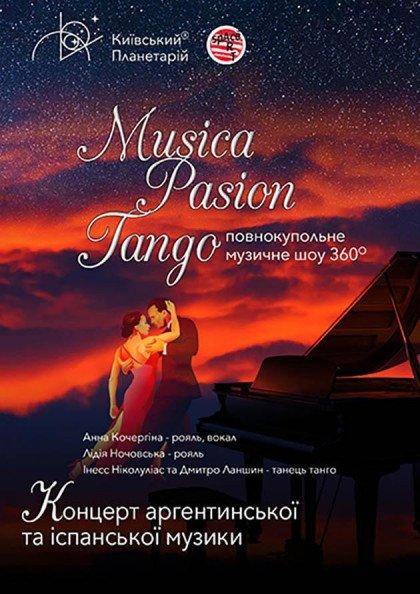 Música. Pasión. Tango
