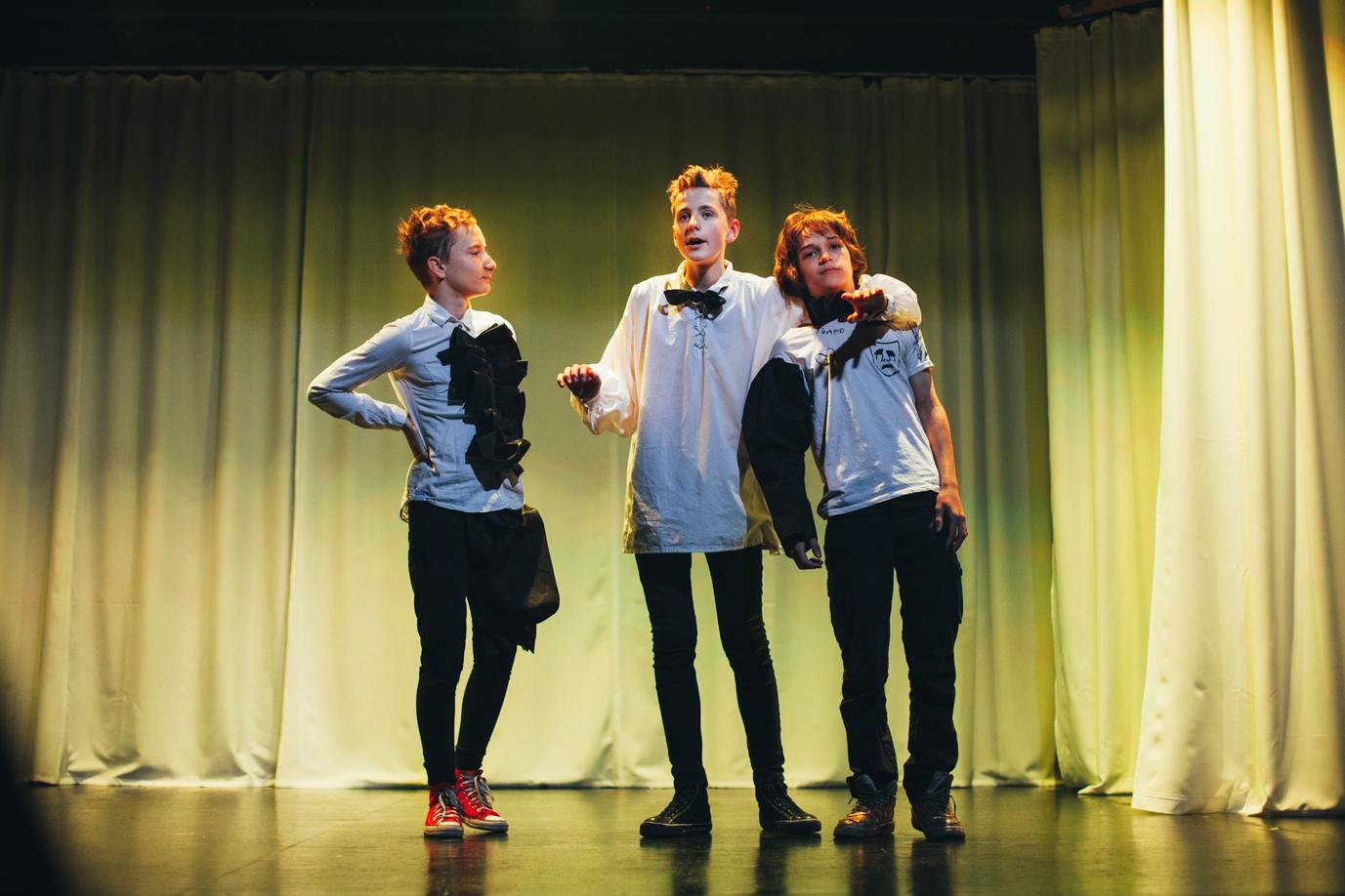 ТЕАТР Ромео и Джульетта. Счастливые-1